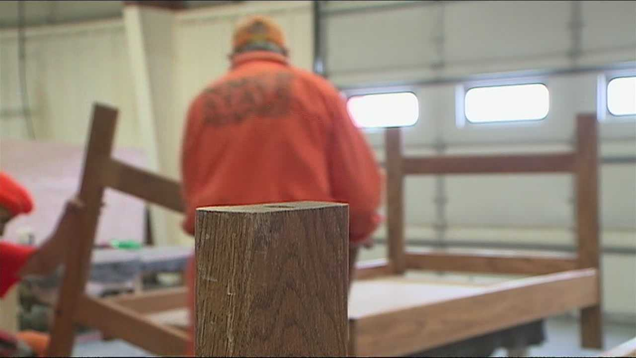 New Mexico inmates donate money and carpentry skills to help those less fortunate this holiday season