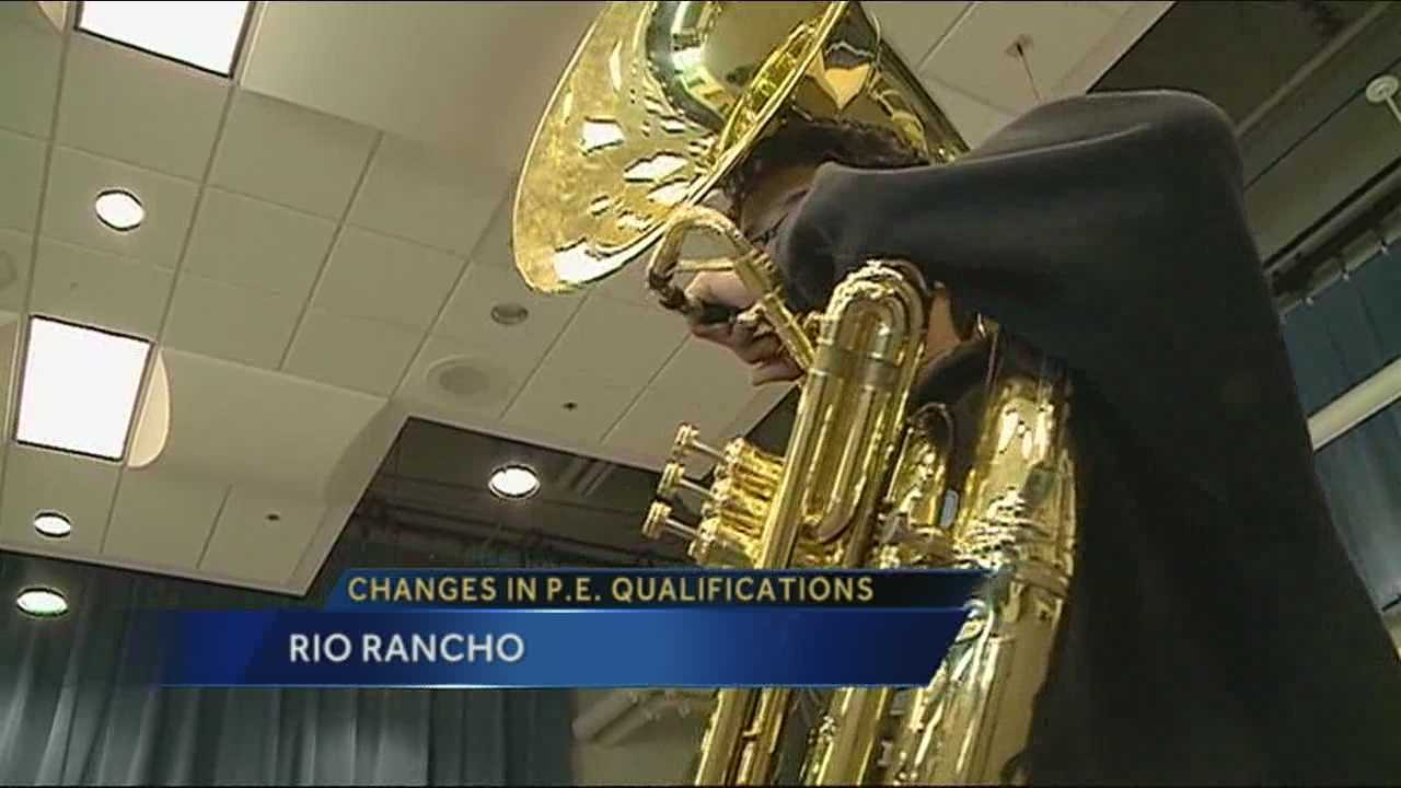 A big change to physical education credits in New Mexico high schools has some students crying foul.