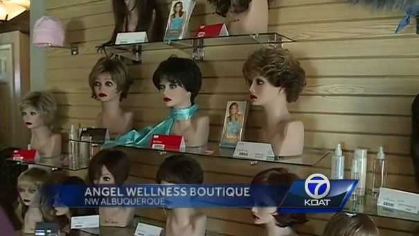 VIDEO: Cancer survivor opens Angel Wellness Boutique | An Albuquerque store helps people battling cancer with products they need.