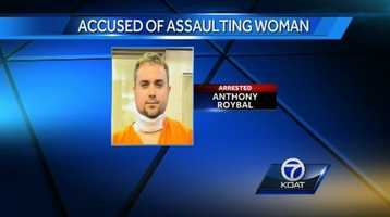 VIDEO: Man gets throat slashed during attempted rape | Anthony Roybal allegedly took inappropriate photos of a New Mexico woman and attempted to assault her when she tried to retrieve the photos.