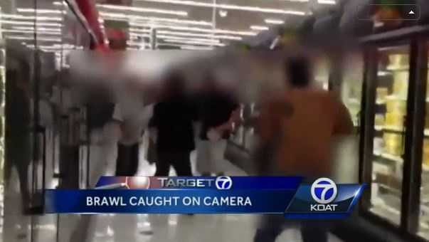 VIDEO: Fight breaks out in walmart frozen food aisle | An Albuquerque Walmart was once again the site of a violent altercation, this one caught on camera by a witness.