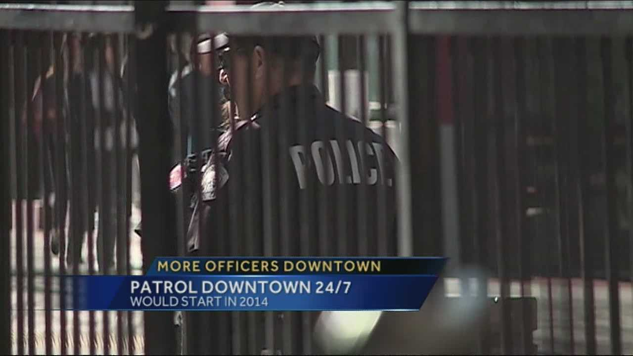 An Albuquerque city councilor is proposing a plan to have more police downtown.