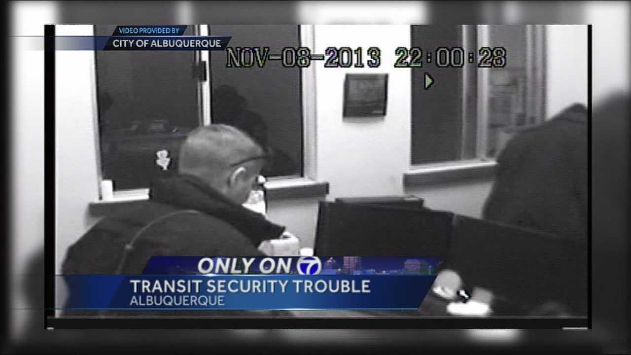 KOAT Action 7 News has uncovered new information about four Transit Security Officers employed by the city of Albuquerque, who are currently under investigation in connection to the burglary of a co-worker's office.