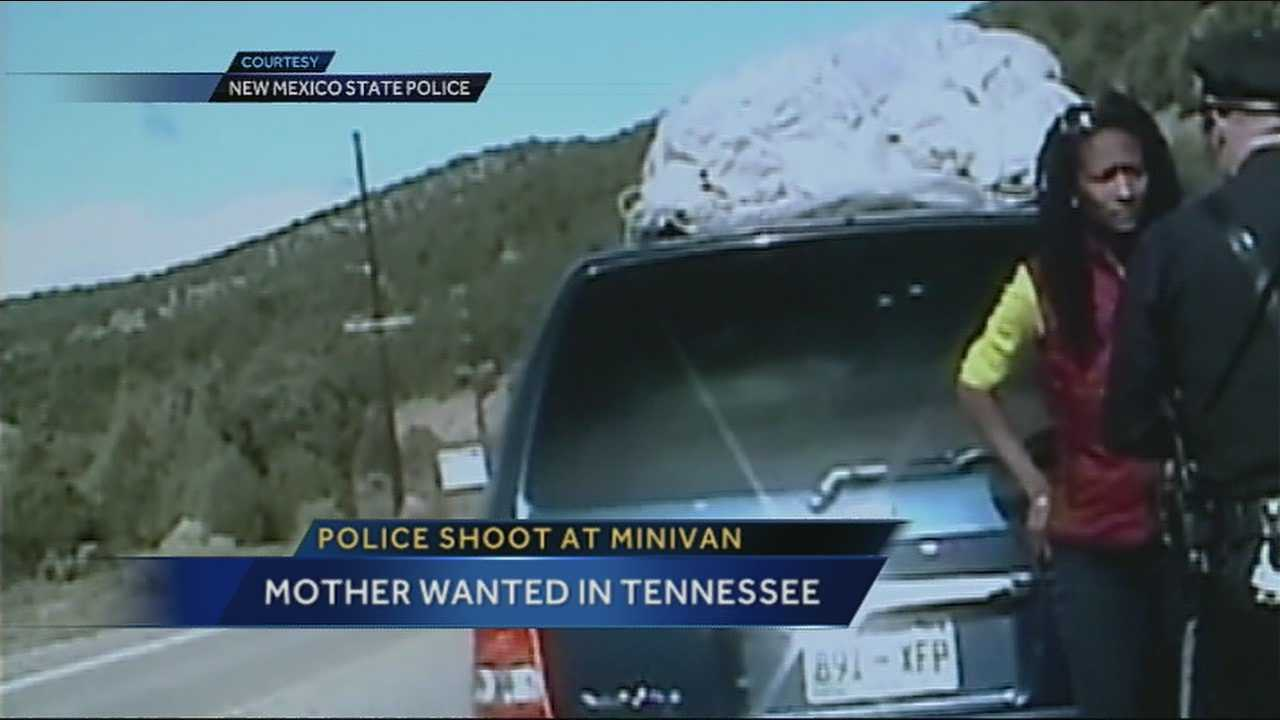 Officials in Tennessee have issued a warrant for the arrest of the mother involved in the controversial Taos traffic stop.