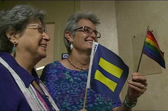 """""""The State of New Mexico is constitutionally required to allow same-gender couples to marry and must extend to them the rights, protections, and responsibilities that derive from civil marriage under New Mexico law."""""""