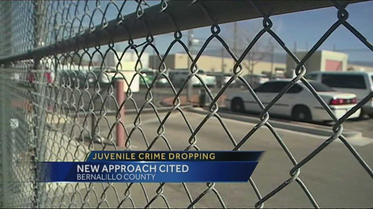 The number of young people being locked up and behind bars is drastically dropping in Bernalillo county.