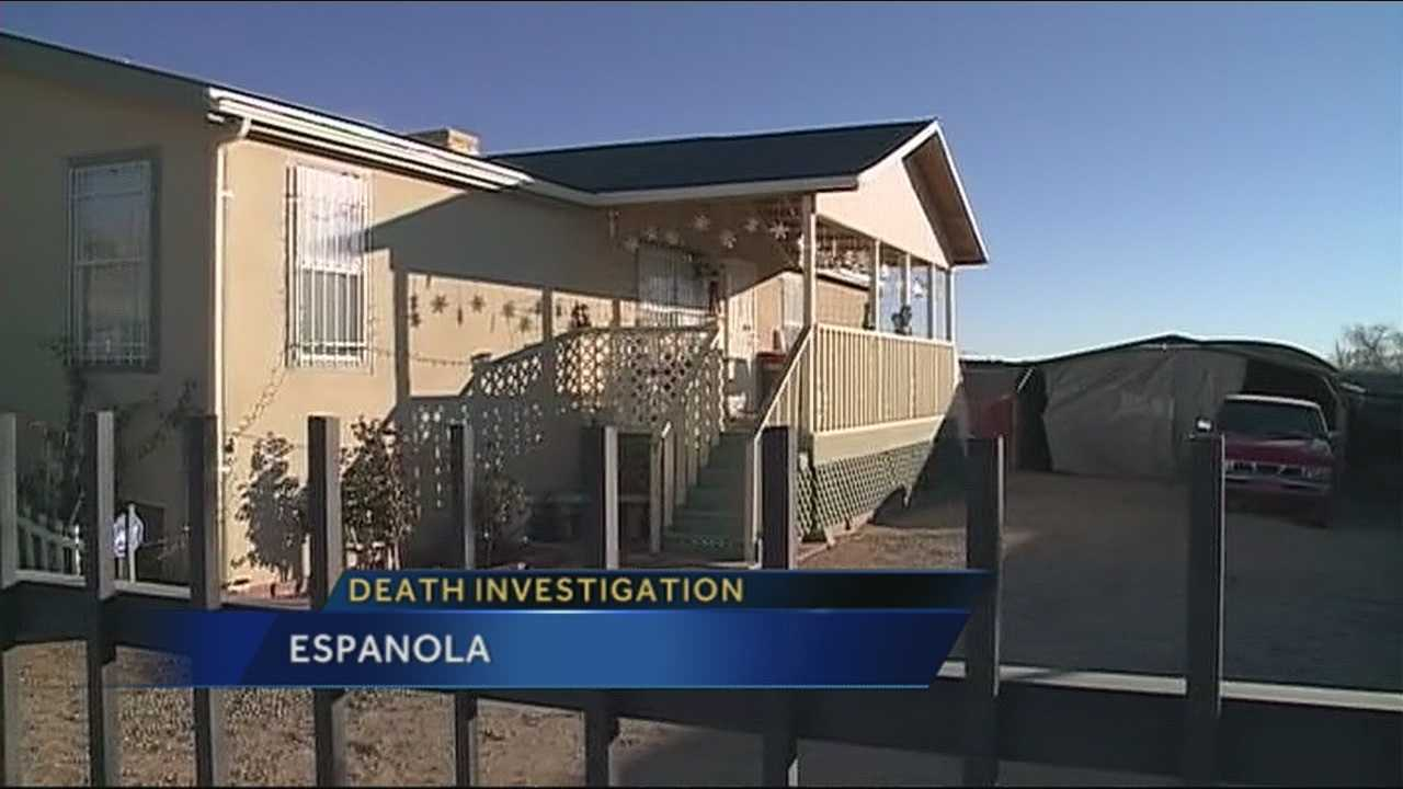 State police are spending this Christmas Eve investigating a homicide in northern New Mexico.