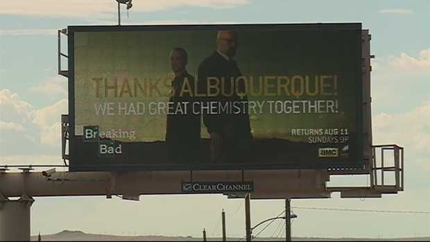 12) That time the stars of 'Breaking Bad' thanked the Duke City for having great chemistry