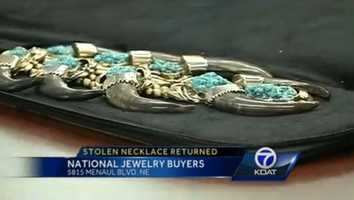 8) Or that time a Good Samaritan returned an heirloom worth $250,000 to an Isleta Pueblo family