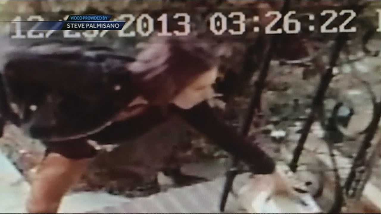 Package Theft Caught On Camera