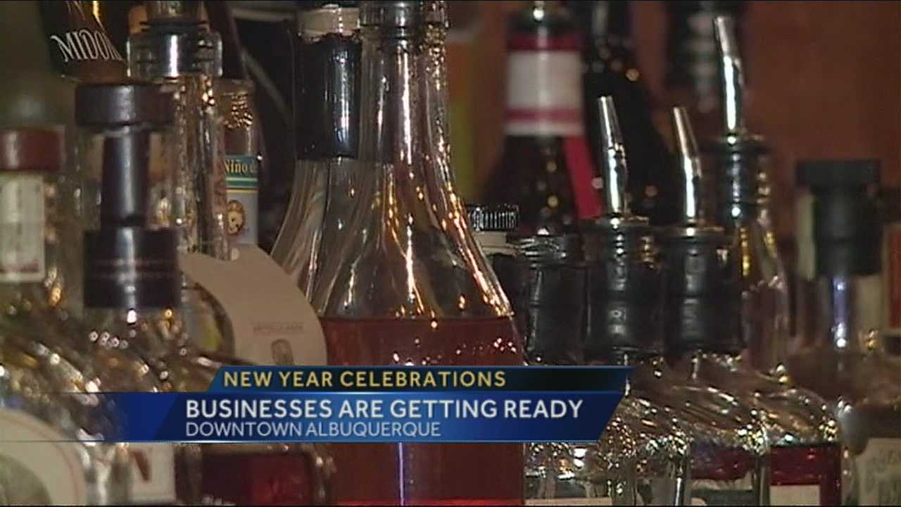 For businesses downtown, New Year's Eve is one of the busiest nights of the year.