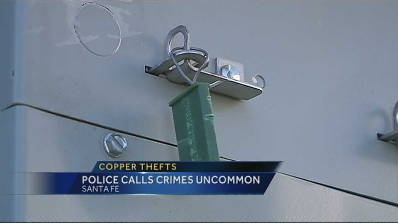 Someone is stealing thousands of dollars from business in Santa but their tactics are more dangerous than taking cash.