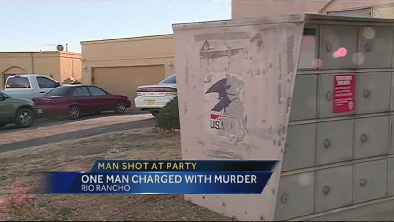 Police say a man committed murder at a new Year's eve party in Rio Rancho.  Investigators tell us the suspect told them he didn't know the gun he was holding was loaded.