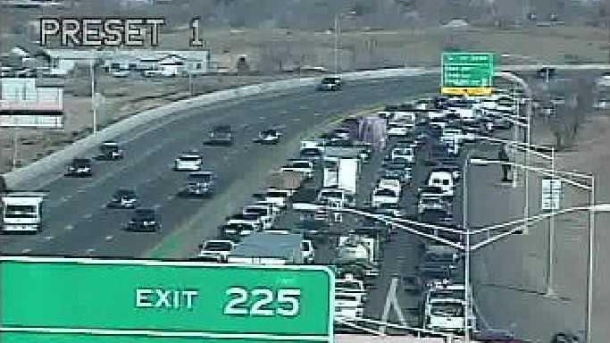I-25 CRASH NM ROADS