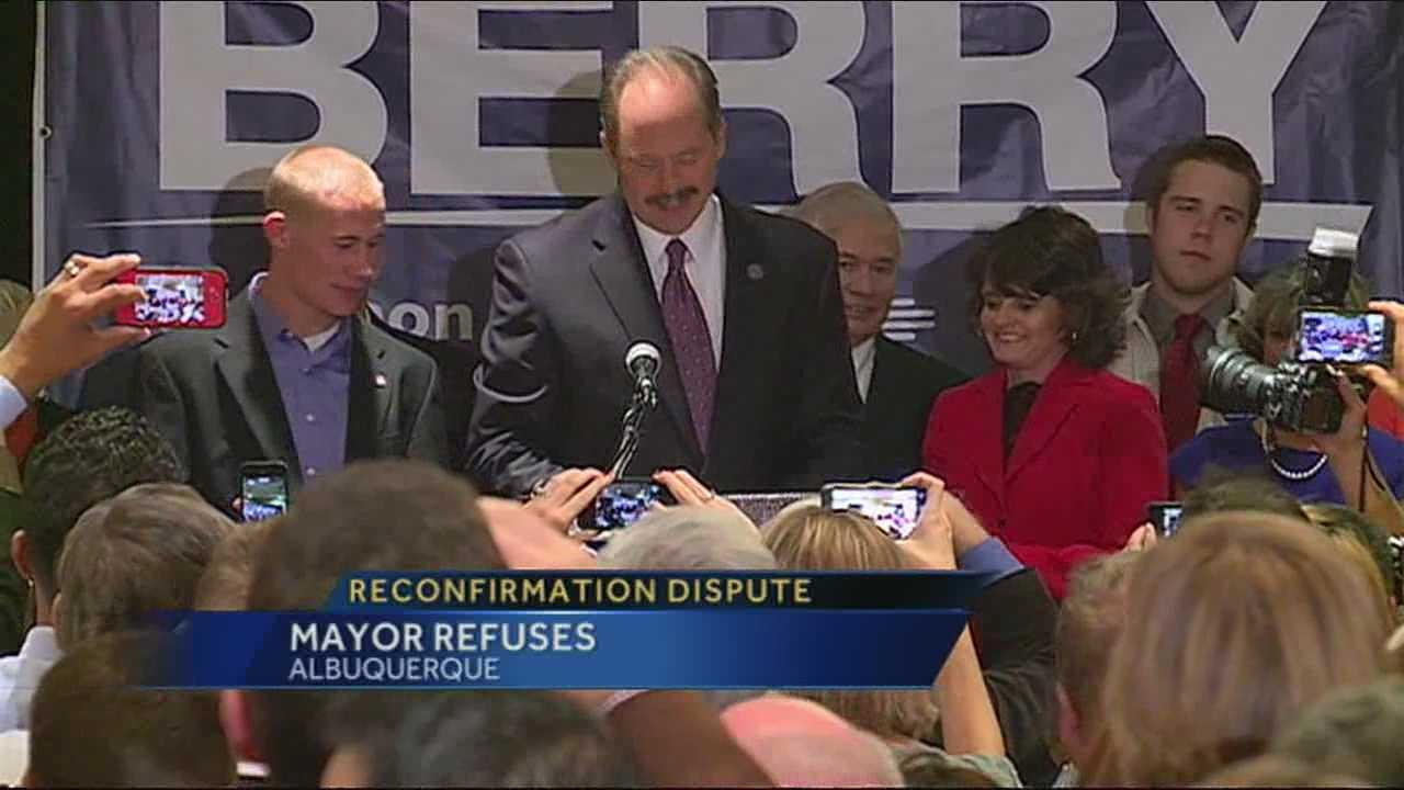 Albuquerque Mayor Richard Berry and the City Council President are butting heads over the city charter.