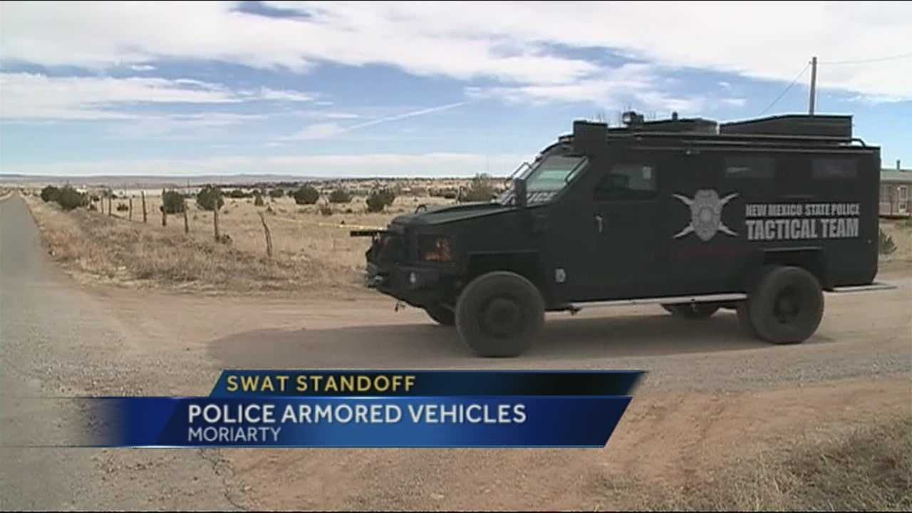 Transportation police aid in Moriarty SWAT standoff