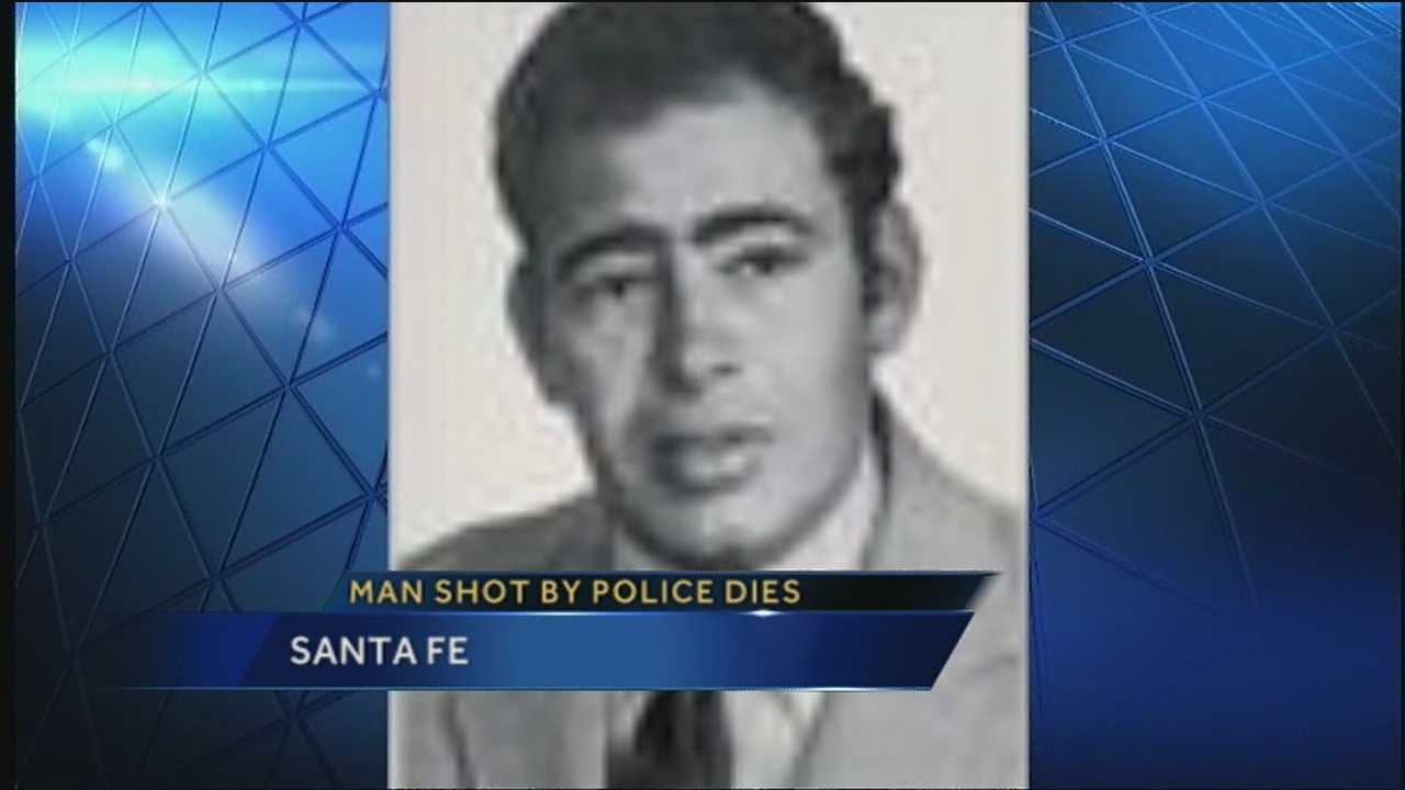 In March, an elderly man was shot by a Santa Fe police officer while they both were responding to an alarm at a neighbor's house. That man died this past week.