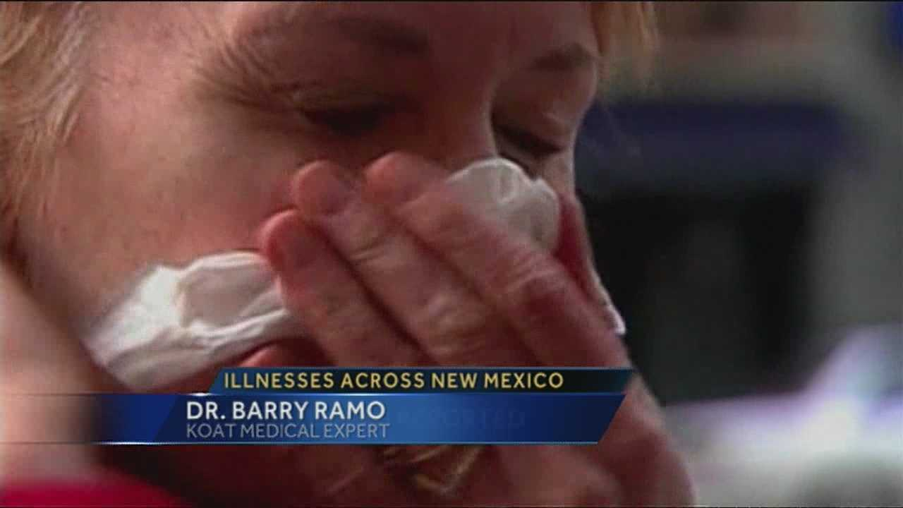 New Mexico's flu epidemic has now claimed its first death. Doctors tell us that other illnesses going around are only compounding the problem.