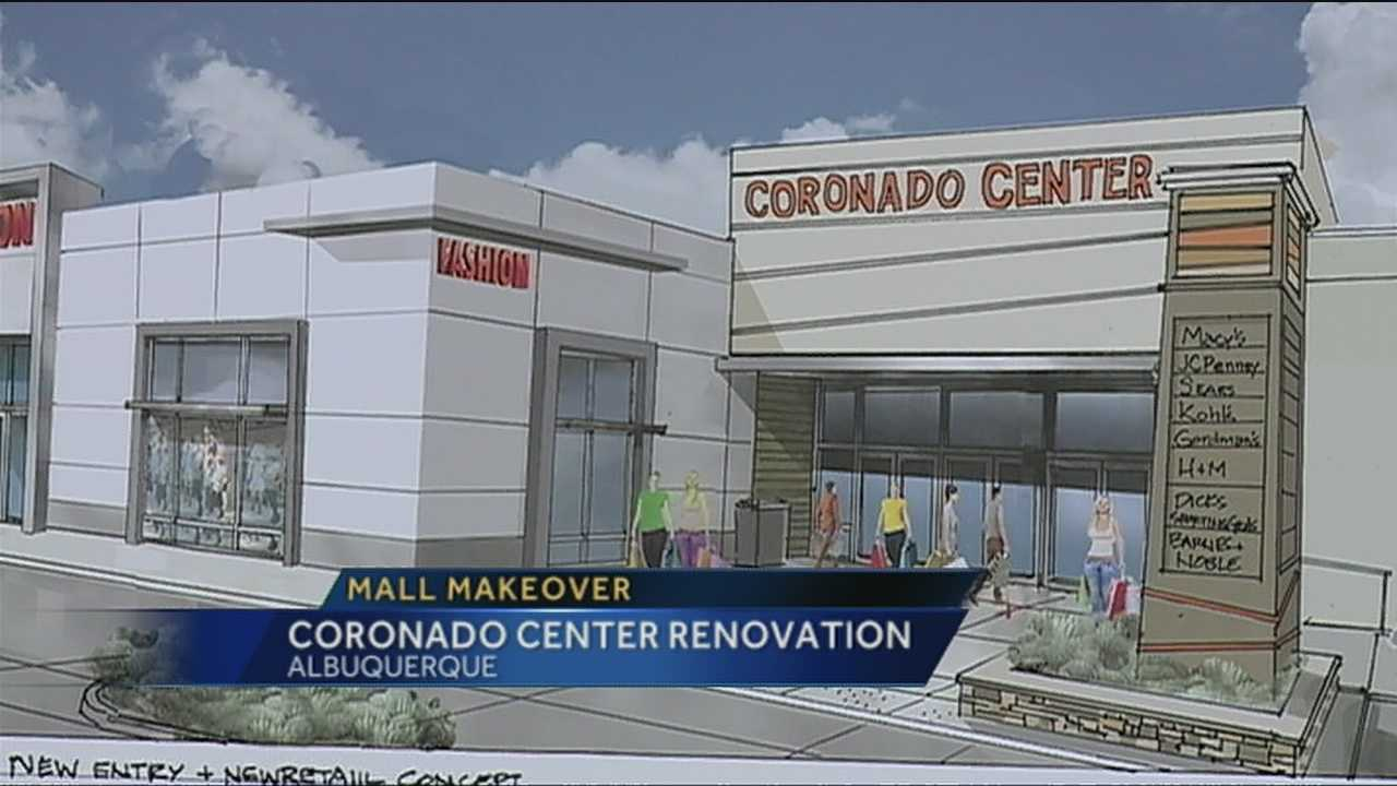 Coronado Mall rennovation