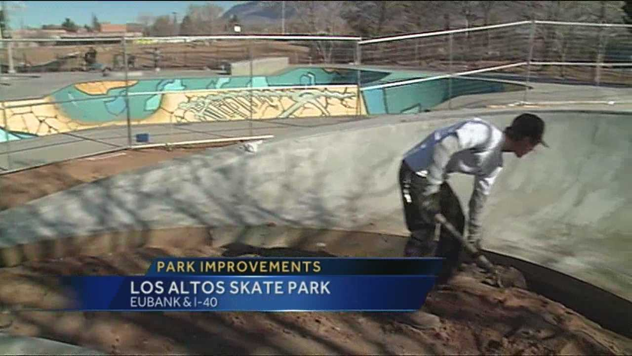 The Los Altos Skate Park in Albuquerque is getting a serious face-lift.