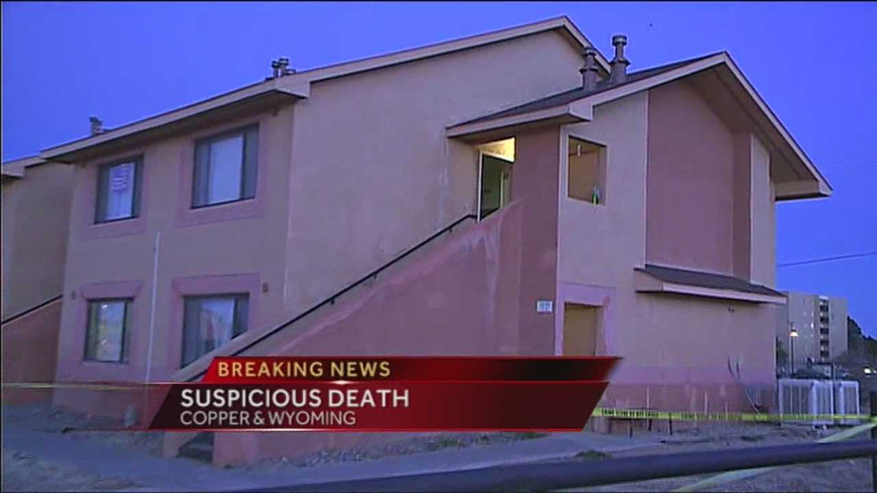 Albuquerque police are investigating a suspicious death in northeast Albuquerque.