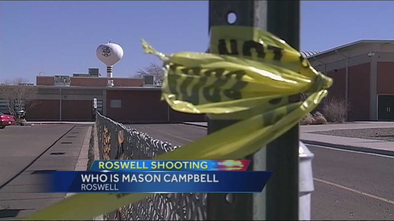 The Chavez County district attorney has charged Mason Campbell with three counts of aggravated battery with a deadly weapon.
