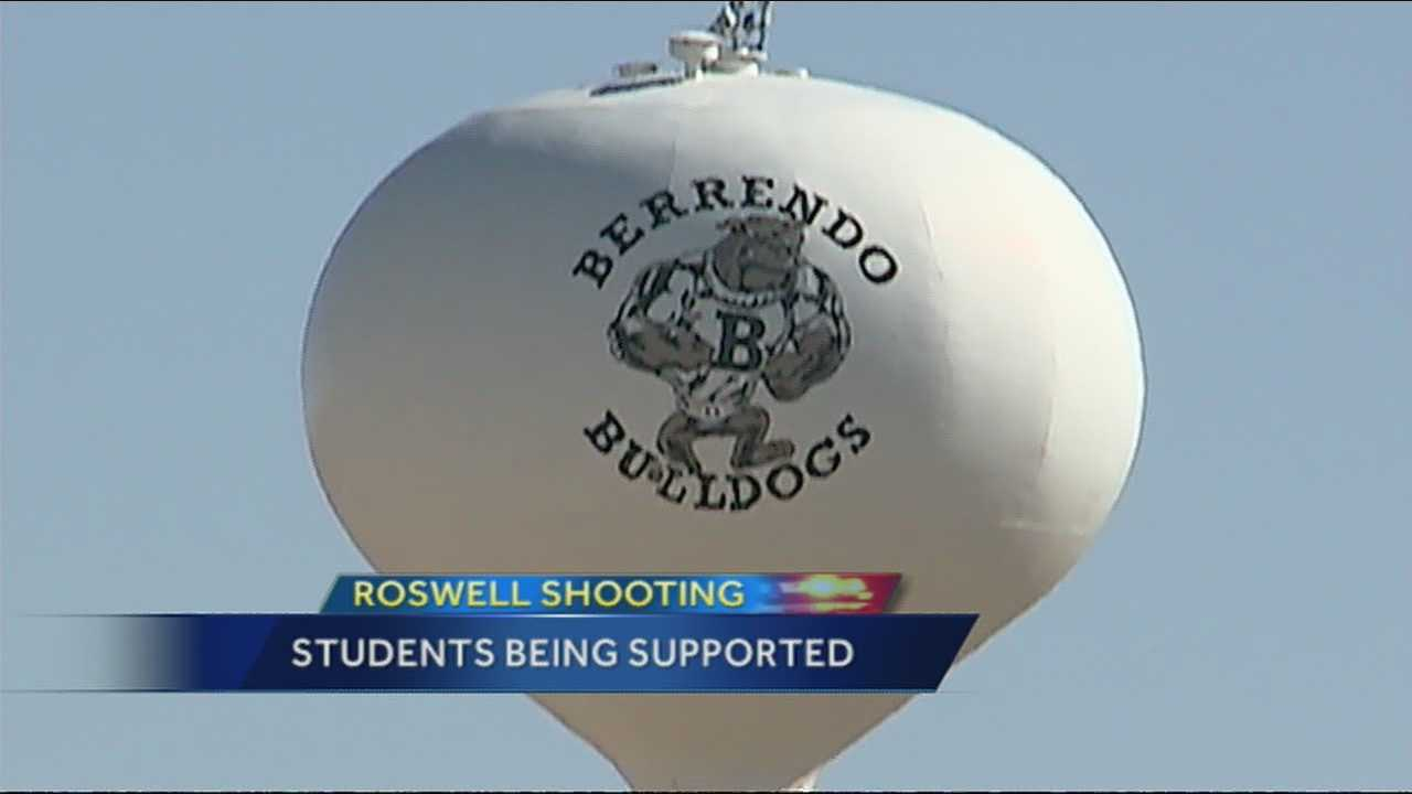 Students will aim to console and offer comfort to kids attempting to move on after experiencing a school shooting.