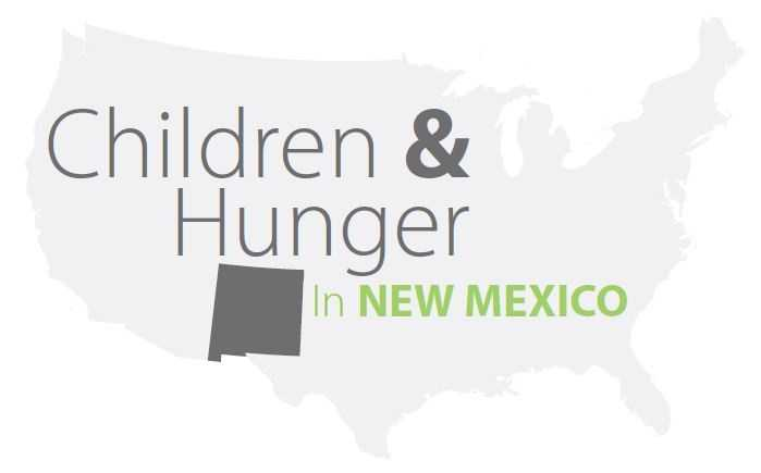See how deep the problem of child hunger goes in New Mexico.