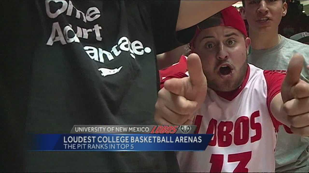 The University of New Mexico men's basketball team is having another successful season on the court, and is having an even better year in the stands.