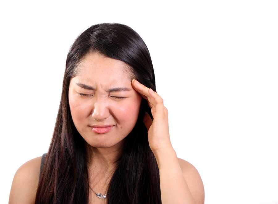 6. A persistent headache