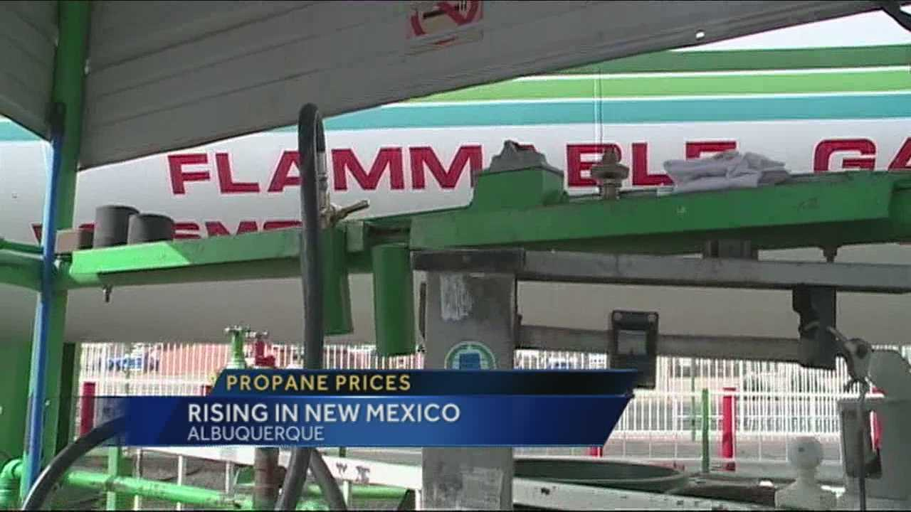 Propane shortage hurts New Mexican wallets
