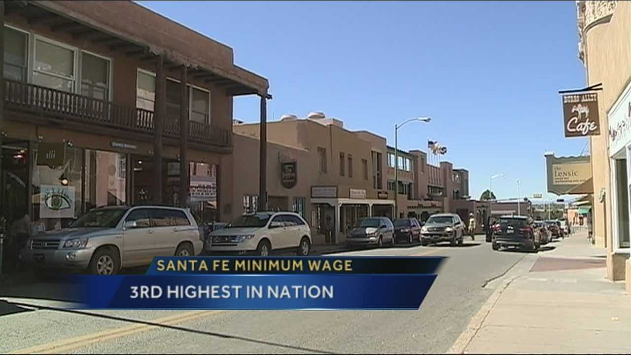 Santa Fe has the third highest minimum wage in the US.  To see what higher wages mean for workers and business.