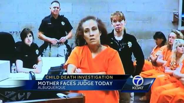 Dec. 29, 2013: Casaus appears before a judge, charged with child abuse resulting in death. Her bond was set at $100,000.