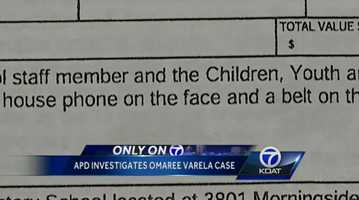 Jan. 28, 2014: Albuquerque police say they are looking into how the Omaree Varela case was reviewed, according to a department spokesperson.