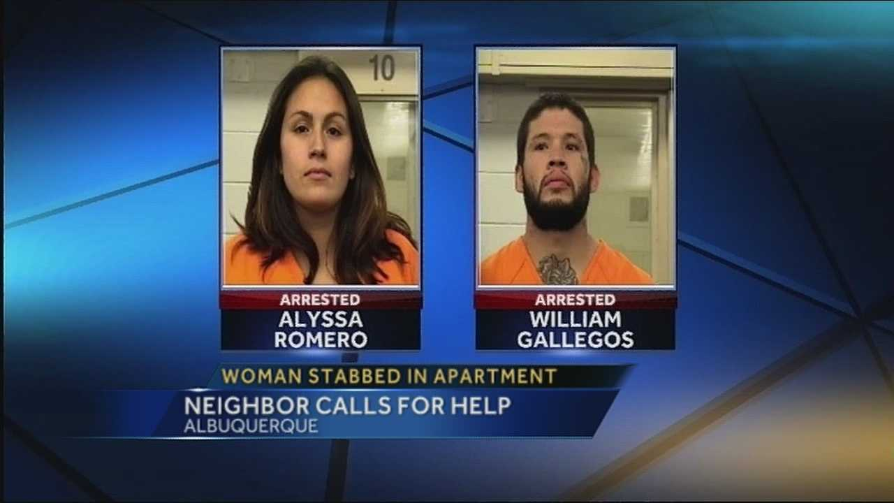 Pair arrested after incident