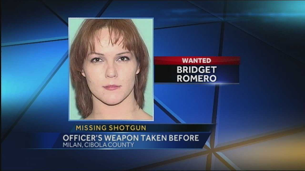 Shotgun stolen as woman made getaway in officer's car