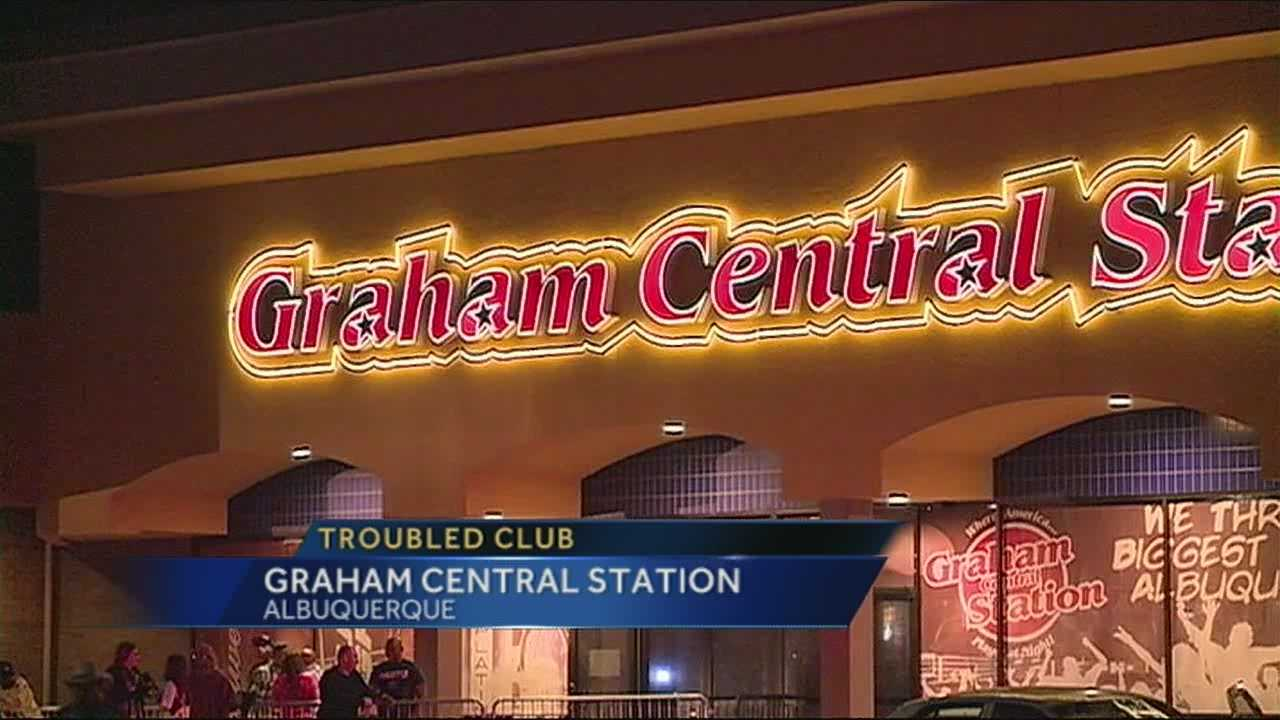 A man was shot inside Graham Central Station this past weekend, a club with a rap sheet 10 years long.