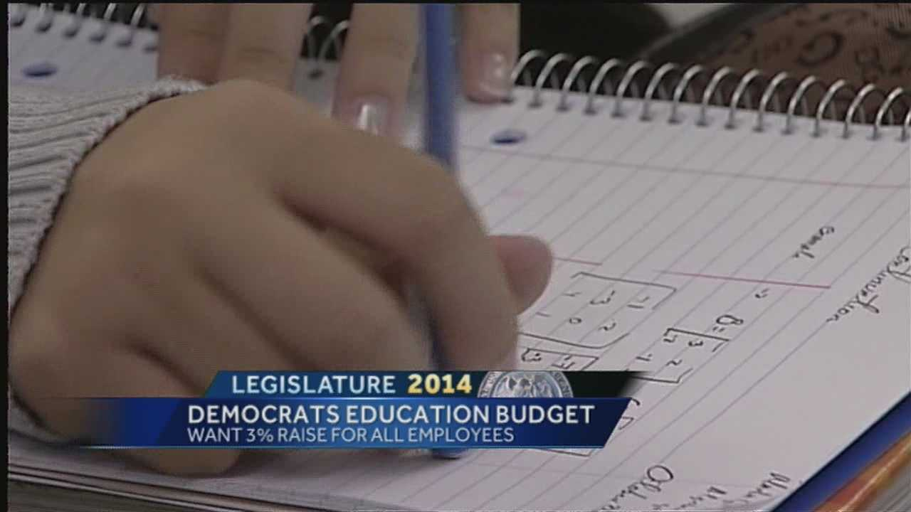 Democrats in Santa Fe spent part of Tuesday discussing their proposed education budget.