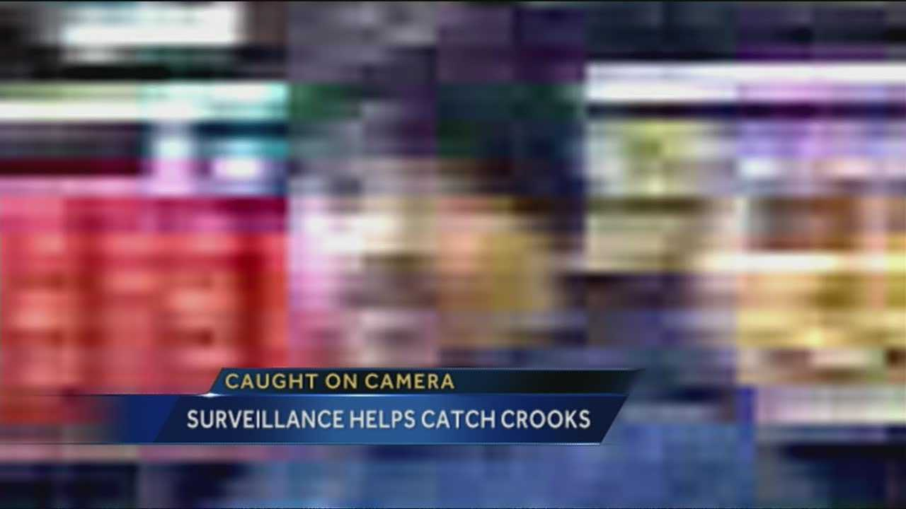 Tonight police say surveillance video is helping them catch crook after crook.