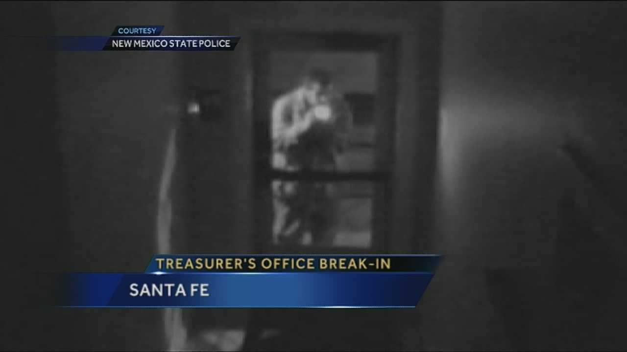 Police have charged a man accused of breaking into the State Treasurer's Office.