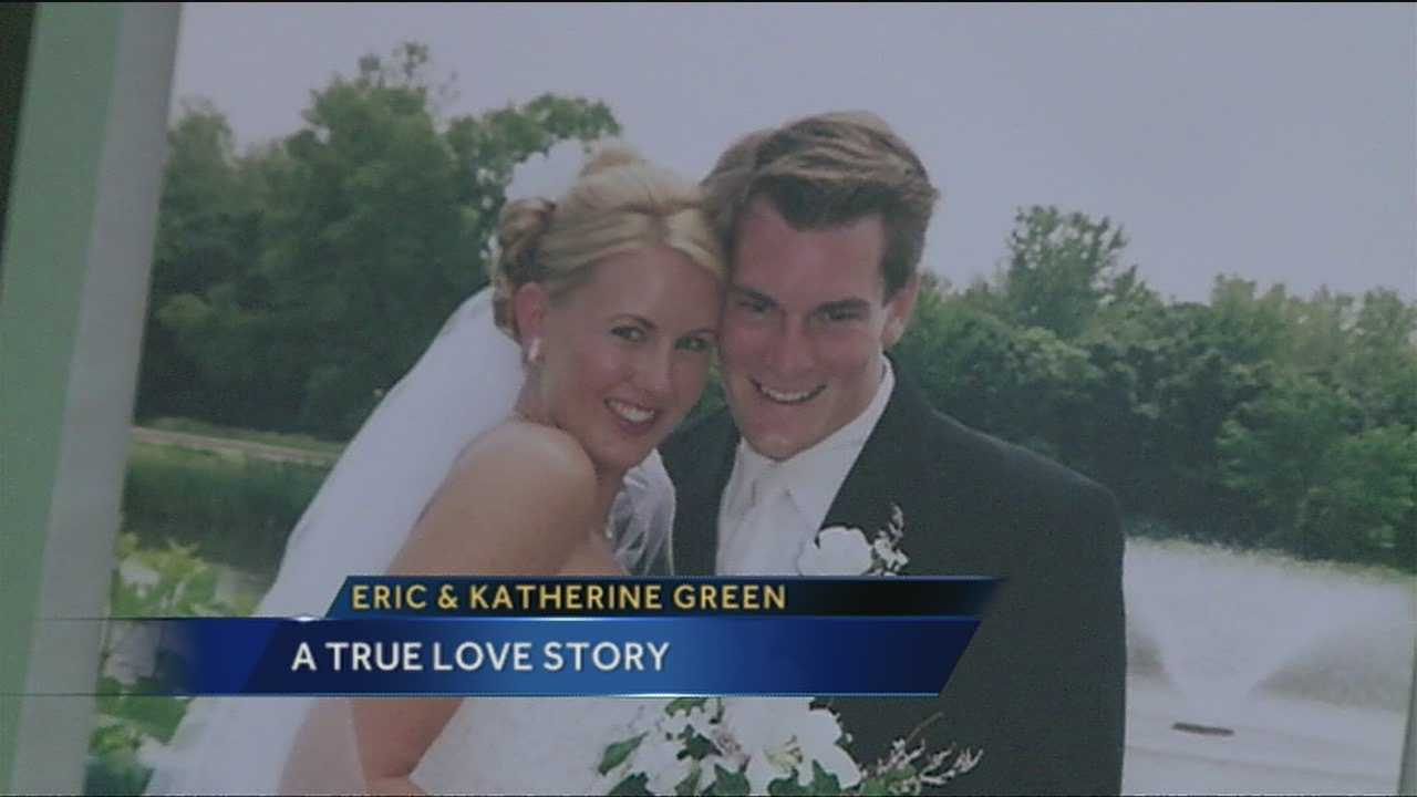 In honor of Valentine's day.  A Love Story: Eric and Kathrine Green