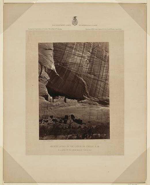 Ancient ruins in N.M. in 1873