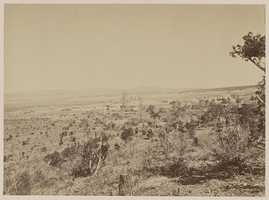Distant View Fort Wingate in 1873