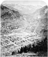 Lake City and San Juan View in 1877.