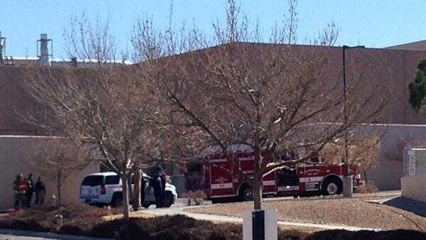 Gas leak UNM campus
