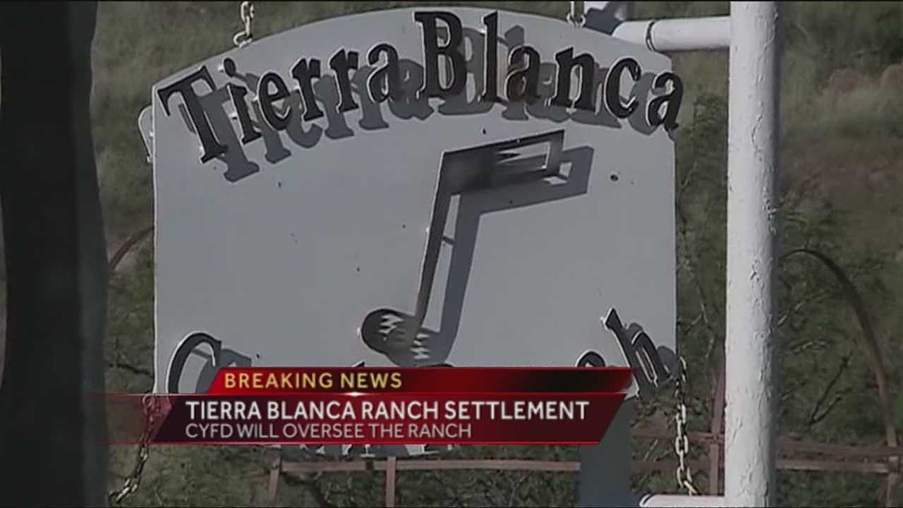 The Tierra Blanca Ranch Youth Program filed a lawsuit against the state's Children, Youth and Families Department in October&#x3B; a settlement was reached Thursday.