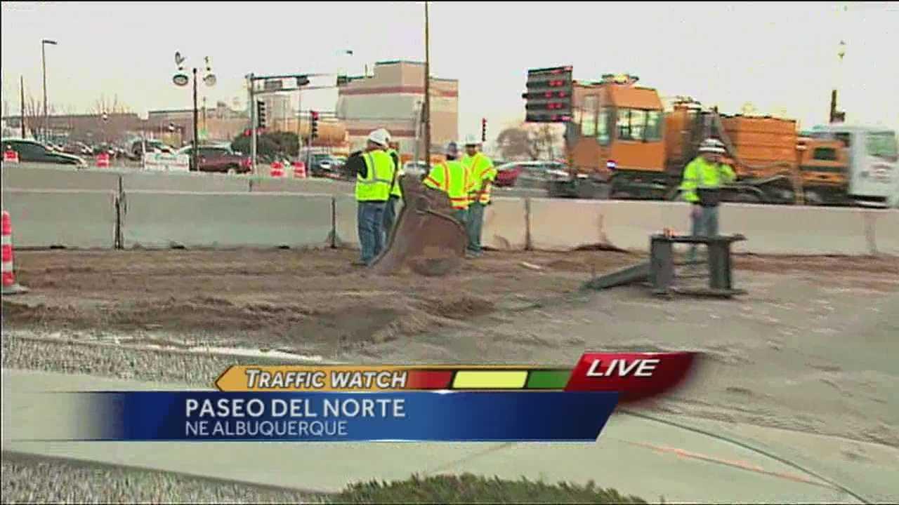 Paseo Del Norte closing
