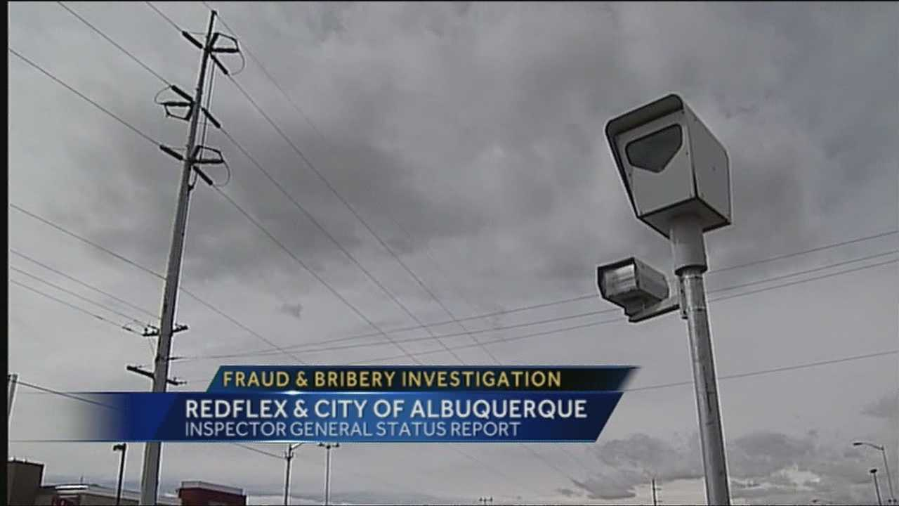 An investigation of potential fraud or bribery regarding Redflex Red Light Camera's is underway in Albuquerque.