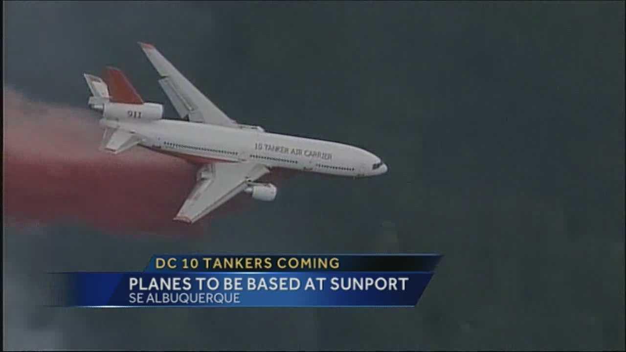DC-10 coming to Albuquerque for NM fire season