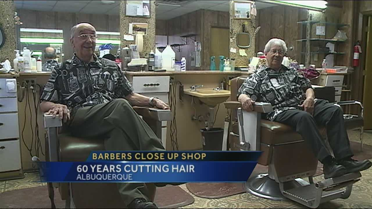 After 60 years of cutting hair in Albuquerque, Mike and Joe are finally retiring.